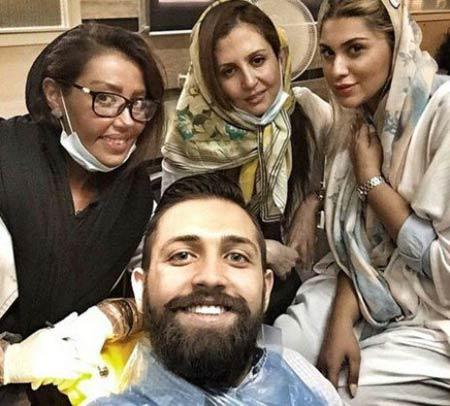 خانم دندان پزشک مورد علاقه فوتبالیستهای ایرانی +عکس