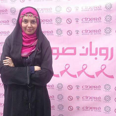 آزاده نامداری درباره همسر جدیدش و سرطان پستان گفت