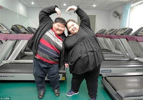 عکسهای زوج 400 کیلویی که میخواهند لاغر شوند