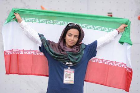 دختر یخی ایران از زندگی اش میگوید +عکس