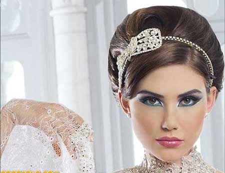 زیباترین مدلهای جدید آرایش عروس 2017