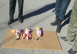 خنثی کردن عروسکهای بمبگذاری شده داعش در ایران +عکس
