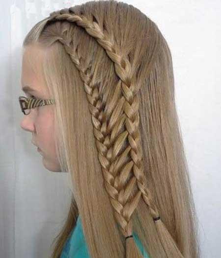 زیباترین مدلهای آرایش موی دختربچه ها