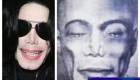عکس لو رفته از چهره مایکل جکسون پس از مرگ