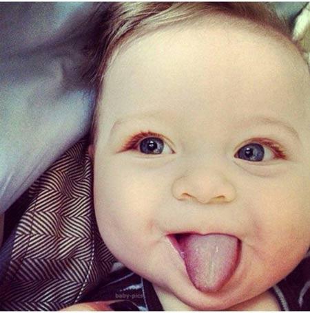 عکس بچه های خوشگل و بامزه