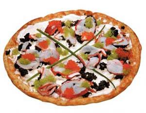 گران ترین پیتزای جهان فقط 3 میلیون تومان + عکس