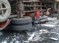 واژگونی مرگبار اتوبوس دانشجویان دانشگاه آزاد + عکس