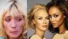 تغییر چهره مانکن زیبا بعد از اعتیاد به شیشه +عکس