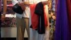 تیپ جالب آنجلینا جولی و برد پیت در حال خرید + عکس