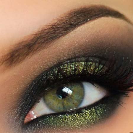 آموزش جدیدترین مدل آرایش چشم و سایه چشم زنانه ۲۰۱۶