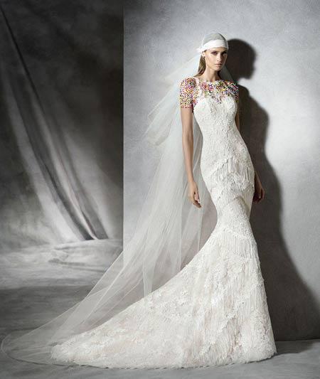 زیباترین مدلهای  لباس عروس 2019
