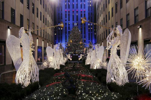 عکس های جشن کریسمس در سراسر جهان