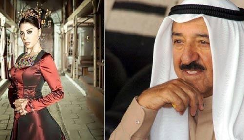 کادوی گران قیمت امیر کویت به بازیگر معروف حریم سلطان + عکس