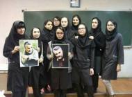آرزوی دختران مدرسه ای برای قاسم سلیمانی +عکس
