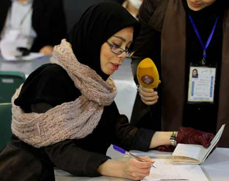 دختر سانتی مانتال نامزد مجلس شورای اسلامی +عکس