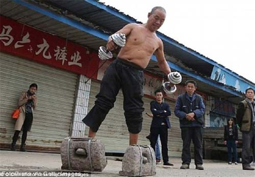 کار شگفت انگیز پیرمرد چینی +عکس