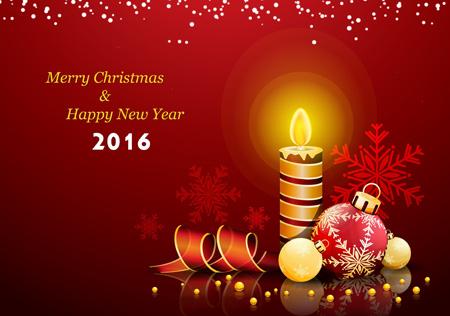 کارت پستال های شیک تبریک کریسمس 2016