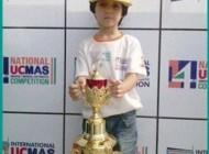 نابغه شش ساله یزدی قهرمان جهان شد + عکس