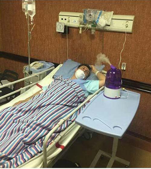 ابتلای مجری معروف ایرانی به آنفولانزای خوکی + عکس
