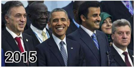 دیدار معصومه ابتکار با انگلا مرکل و اولاند و اوباما +عکس
