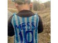 لیونل مسی پسر بچه کردستانی را پیدا کرد +عکس