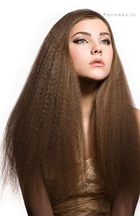 زیباترین مدل موهای بلند مد سال 95