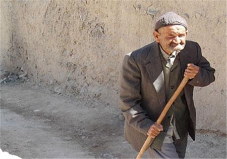 مسن ترین مرد ایران درگذشت + عکس