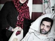 عیادت مهناز افشار از بازیگر جوان مبتلا به ام اس +عکس