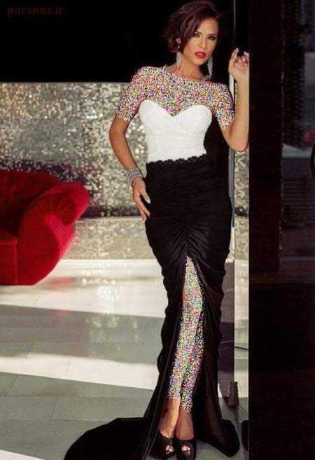 زیباترین مدل پیراهن مجلسی زنانه و دخترانه 97 و 2018