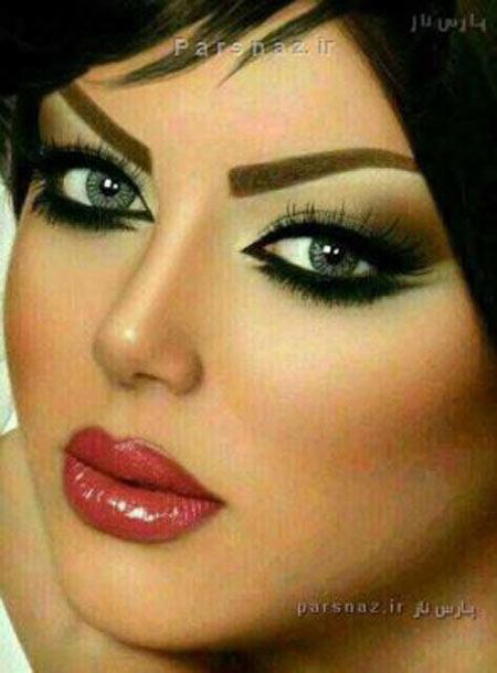 عکس های مدل آرایش جدید دختران داغ و خوشگل