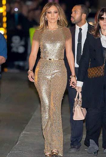 لباس 40 میلیون تومانی جنیفر لوپز را ببینید + عکس