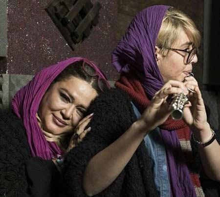 بهاره رهنما اسم دخترش را روی دستش خالکوبی کرد +عکس