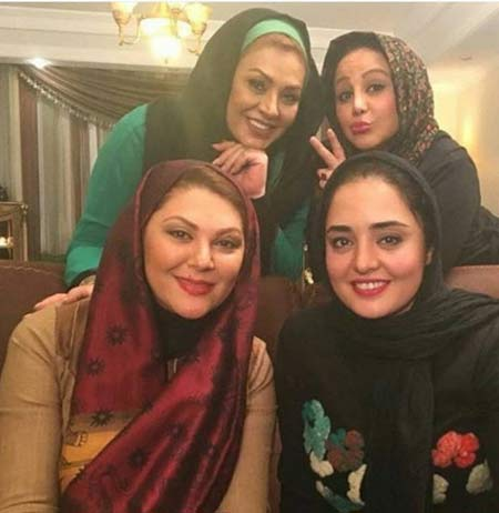 پشت صحنه شام ایرانی در خانه بازیگران زن معروف + عکس