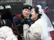 خواستگاری و ازدواج عجیب و جالب پلیس ضربت +عکس