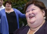 چاق ترین خانم وزیر جهان را ببینید +عکس