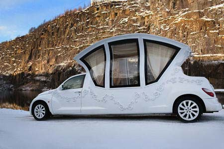 رویایی ترین ماشین عروس را ببینید + عکس