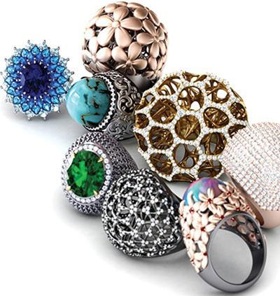 شیک ترین و زیباترین مدل انگشترهای جواهر 2016