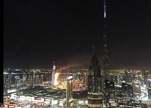 جزئیات آتش سوزی وحشتناک در هتل معروف دوبی +فیلم و عکس