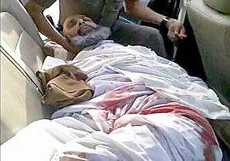 اعدام جنجالی شیخ نمر در عربستان با تبر یا با شمشیر +عکس