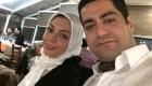 عکس آزاده نامداری و همسر جدیدش در جشنواره فیلم فجر