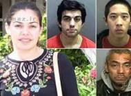 فرار سه زندانی در آمریکا به کمک خانم معلم ایرانی + عکس