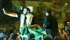 عکسهای دیده نشده پسری که پرچم عربستان را پایین کشید