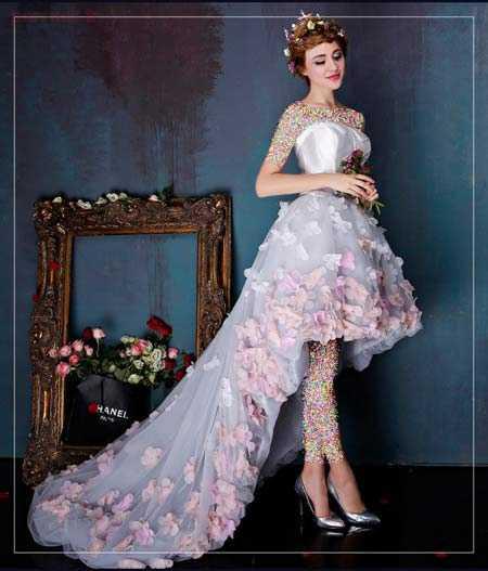 زیباترین مدل پیراهن مجلسی زنانه و دخترانه ۲۰۱۶