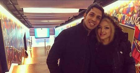 سپهر حيدری و همسرش در اسپانیا + عکس