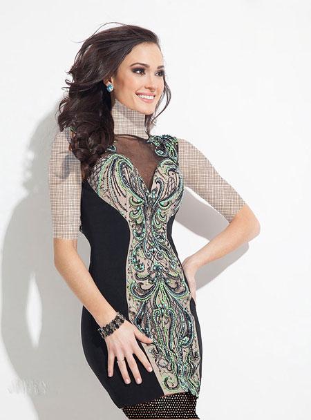 گالری عکس مدل لباس کوتاه مجلسی زنانه بهار ۹۵