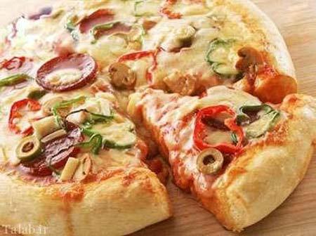 آموزش تهيه پيتزا بدون فر و در پيک نيک