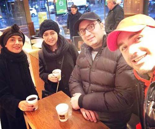 تصاویر تیپ جالب نیکی کریمی در آلمان