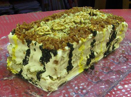 آموزش کیک مجلسی و جدید کشک بادمجان برای مهمانی ها