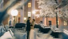 عروسی در دمای 40 درجه زیر صفر + عکس