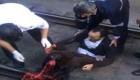 نجات مرد 50 ساله ازخودکشی وحشتناک در متروی صادقیه +عکس18+